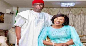 Governor Okowa, wife test positive for COVID-19
