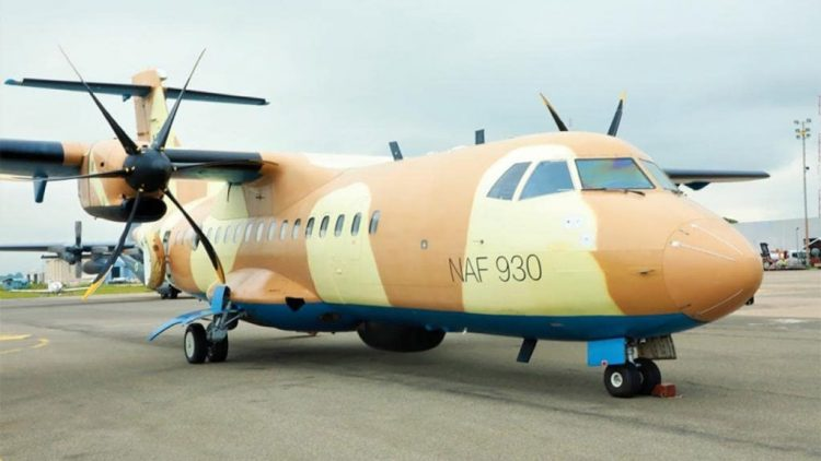 Photo: Nigerian Air Force takes delivery of spy ATR-42 aircraft
