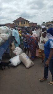 OSAF distributes COVID-19 relief palliatives in Osogbo, over 3000 vulnerable persons benefit [Photo]