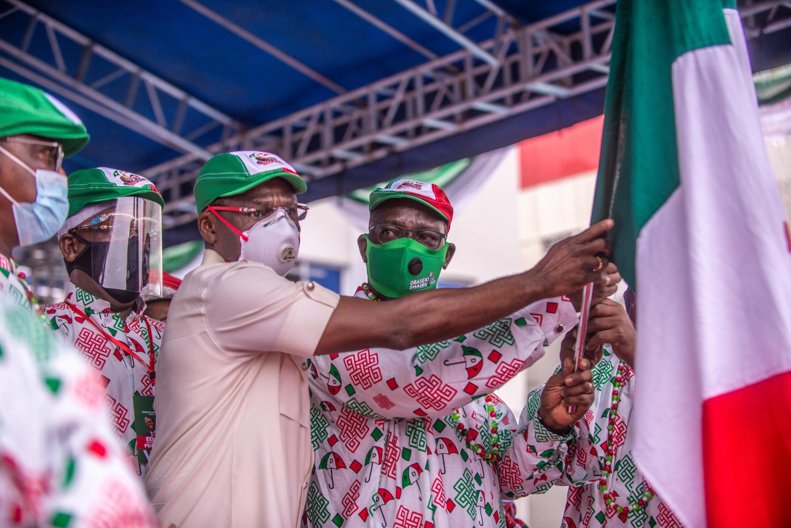 Photo of Edo 2020: Obaseki, PDP vows to bury dictatorship politically