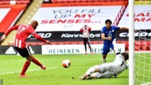 Sheffield United thrash Chelsea 3-0