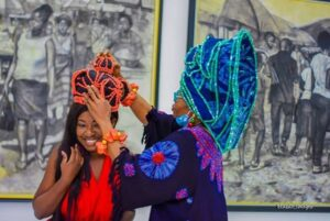 Photos: Yvonne Jegede bags Erelu Of Nollywood title