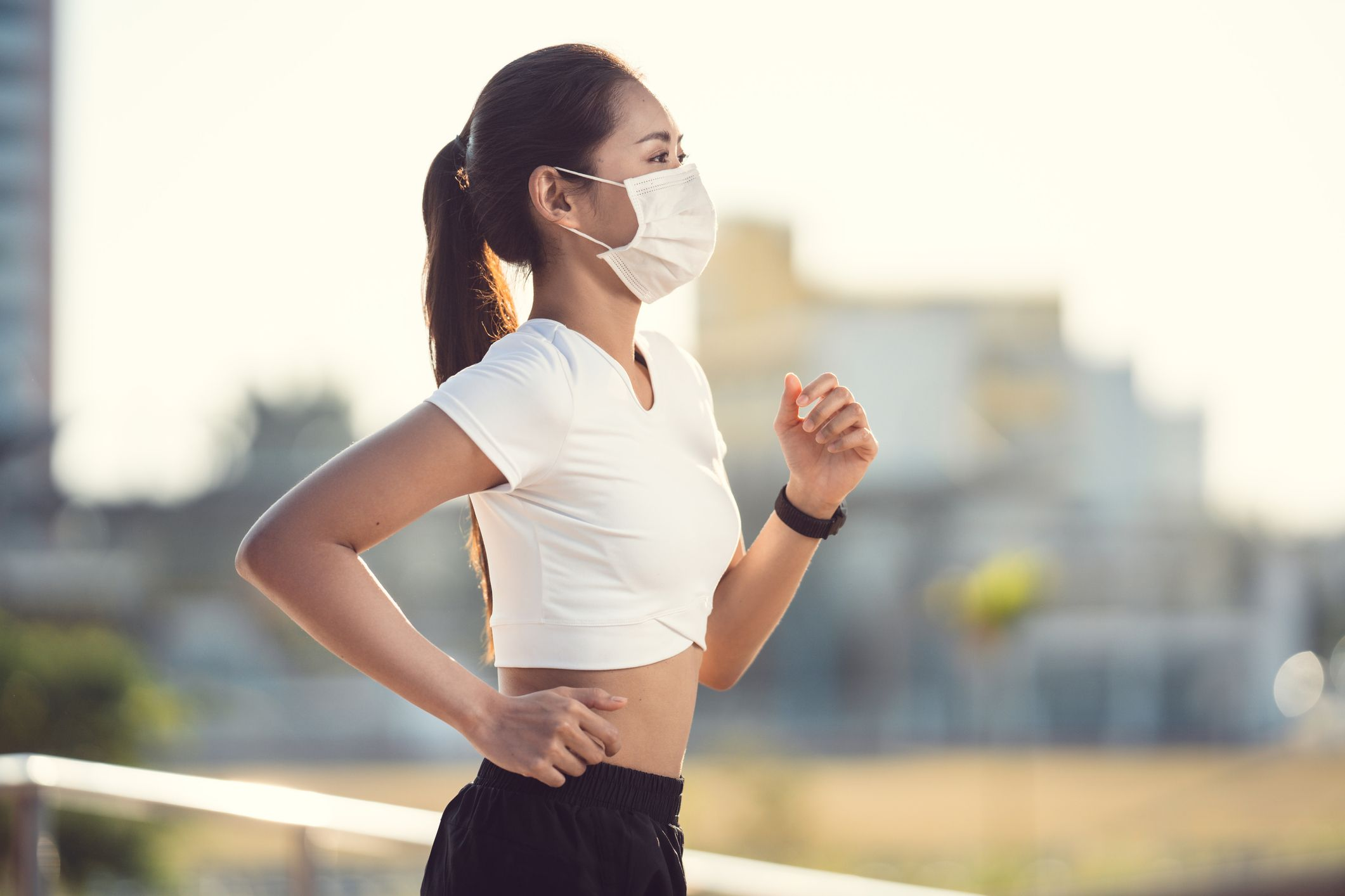 Photo of WHO warns against use of masks during exercise
