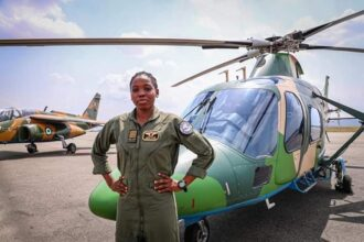 NAF immortalises Arotile, Nigeria's first female combatant helicopter pilot