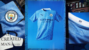 Manchester City unveiled new jersey (Photos)