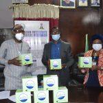 Stanbic Bank donates COVID-19 Test Kits to NIMR