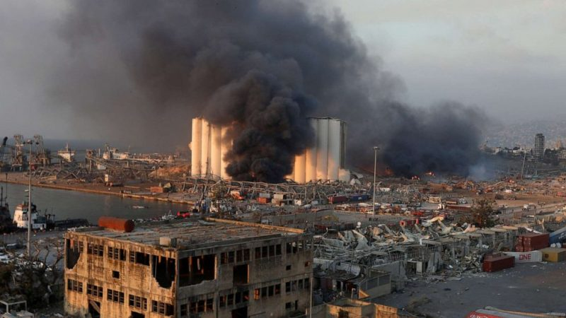 Photo of Beirut explosion: Lebanon's Prime minister Hassan Diab, government resign