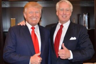 Trump's younger brother, Robert Trump hospitalised