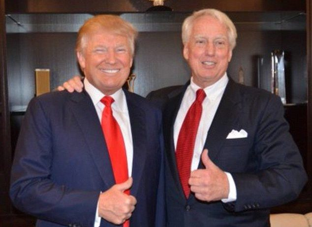 Photo of Trump's younger brother, Robert Trump hospitalised