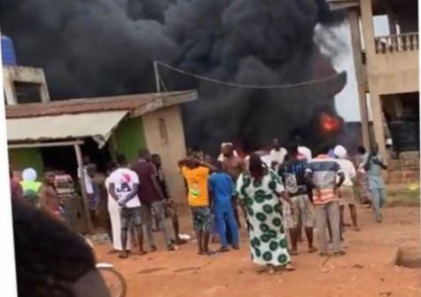 Photo of BREAKING: Gas explosion rocks Ijebu-Ode