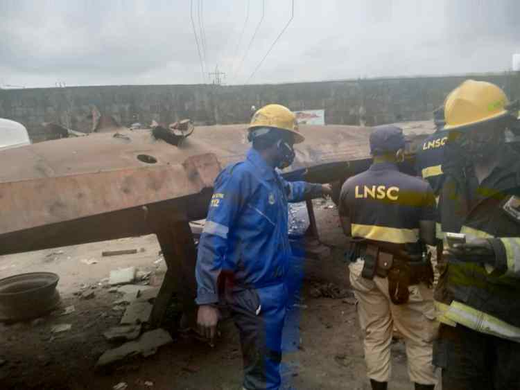 Photo of One dead as another gas explosion rocks Lagos