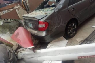 Opebi residents react after deadly helicopter crash