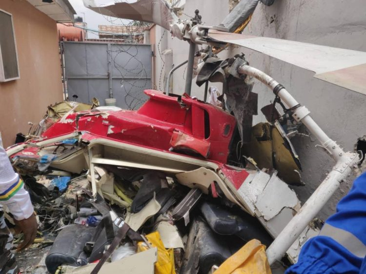 Photo of Black box of crashed helicopter recovered