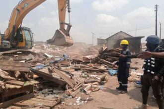 Photo: Lagos Govt clears illegal structures in Agege