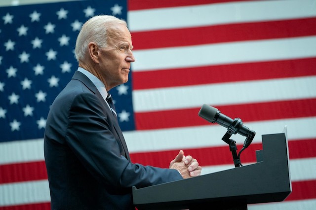 Photo of US presidential election: Biden leads Trump in latest poll