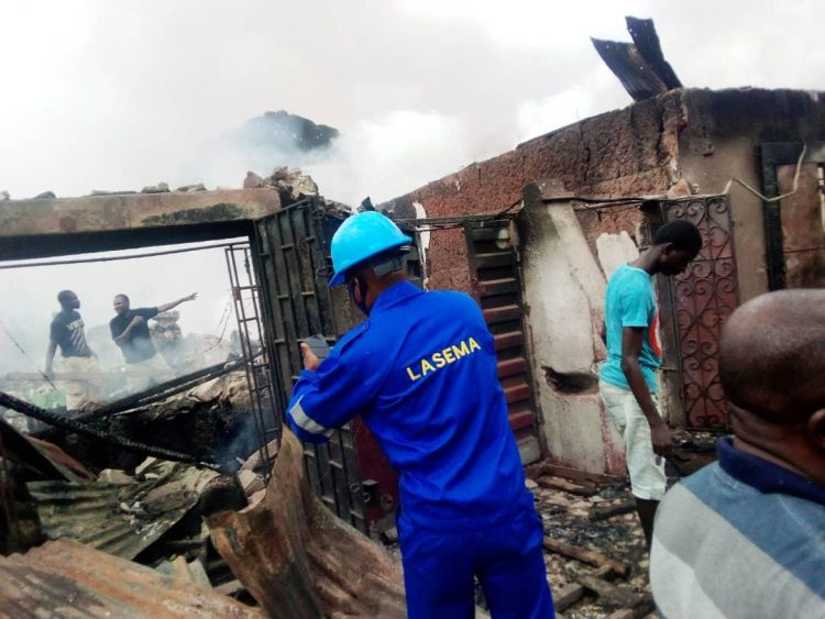 Photo of Seven buildings, 30 shops burnt in Lagos inferno