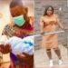 Photo: Sandra Ikeji, hubby Arinze welcome baby boy