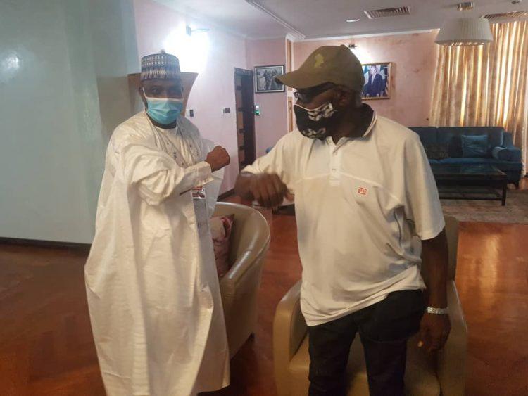 Photo of Obasanjo, Tambuwal hold meeting in Ogun