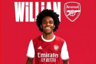 Breaking: Willian officially joins Arsenal