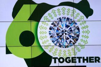 Photo: Buhari unveils 60th Anniversary Logo, presides over 15th virtual FEC meeting
