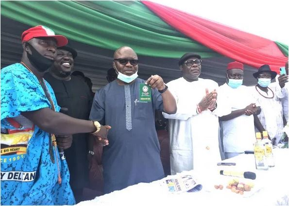 Photo of Former Delta Governor, Uduaghan officially dumps APC for PDP