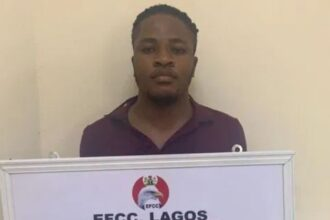 Photo: Man who claims to hack Access Bank lands in EFCC custody