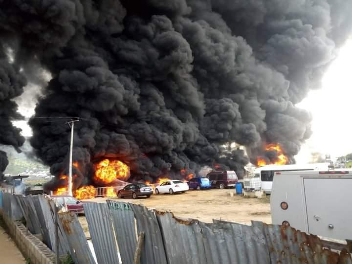 Photo of BREAKING: Several feared dead in Kogi tanker explosion