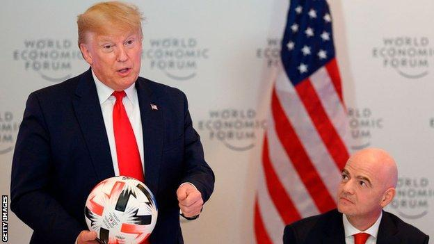 Photo of FIFA president, Infantino meets Trump to discuss 2026 World Cup finals