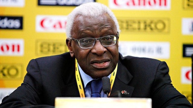 Photo of 87-year-old ex-IAAF chief Lamine Diack jailed for collecting bribes