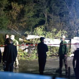 Photo: Military plane carrying air force cadets crashes, 22 dead