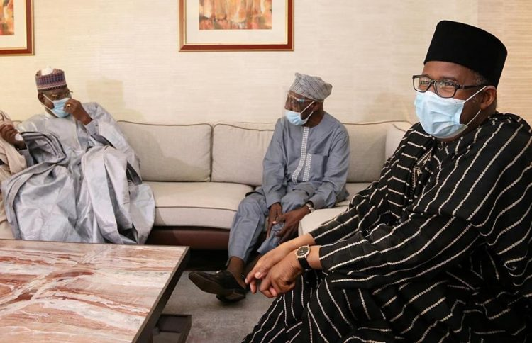 Photo of Photos: PDP 2019 election review committee visits Obasanjo, Jonathan, David Mark