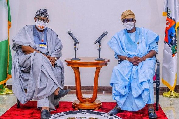 Photo of Ondo 2020: Sanwo-Olu drums support for Akeredolu's re-election