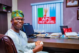 Lagos East: Abiru denies being handpicked by godfathers, reveals core strengths against opponents