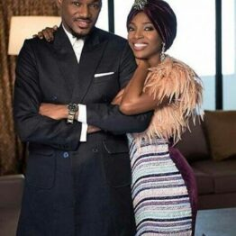 """""""Oh my WORLD"""": Annie Idibia celebrates 2Baba at 45 (Video)"""