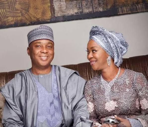 Photo of Saraki celebrates wife, Toyin on 56th birthday