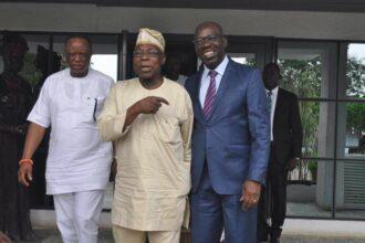 Edo poll: Obasanjo sends message to Obaseki on electoral victory