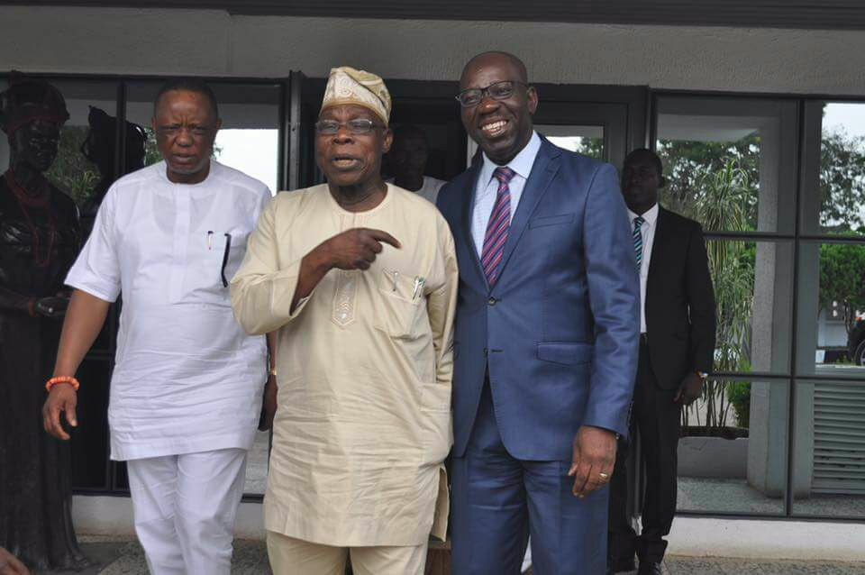 Photo of Edo poll: Obasanjo sends message to Obaseki on electoral victory