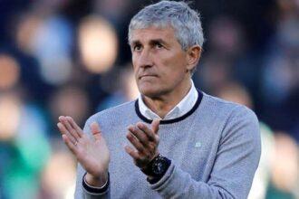 Ex-Barca coach, Quique Setien set to sue club over sack