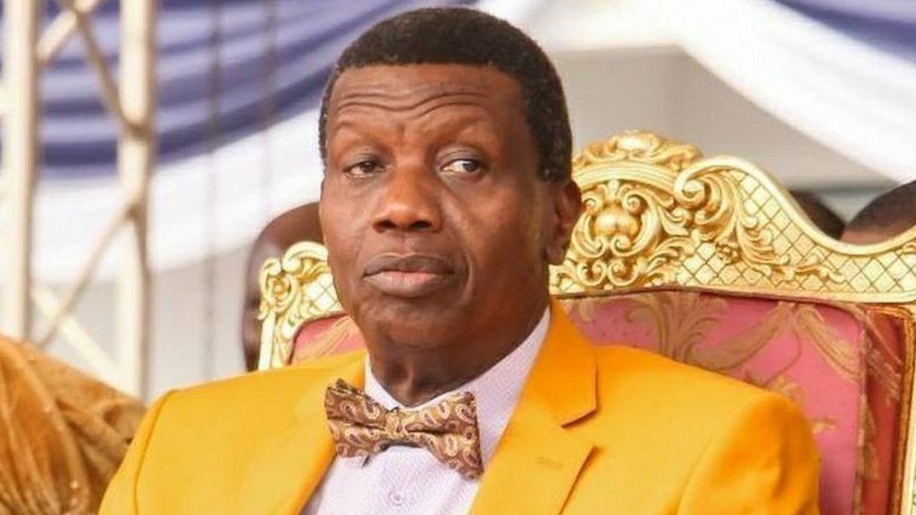 Photo of Don't cry, keep praying for us, Pastor Adeboye says as son is buried