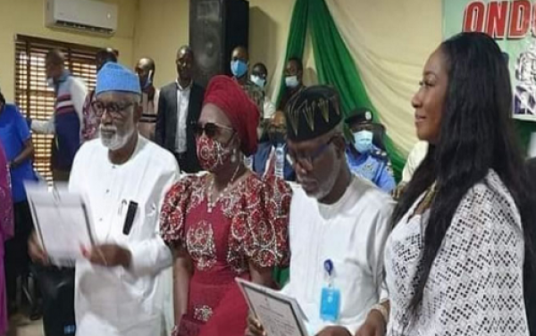 Photo of Akeredolu receives certificate of return, vows not to seek election into public office again