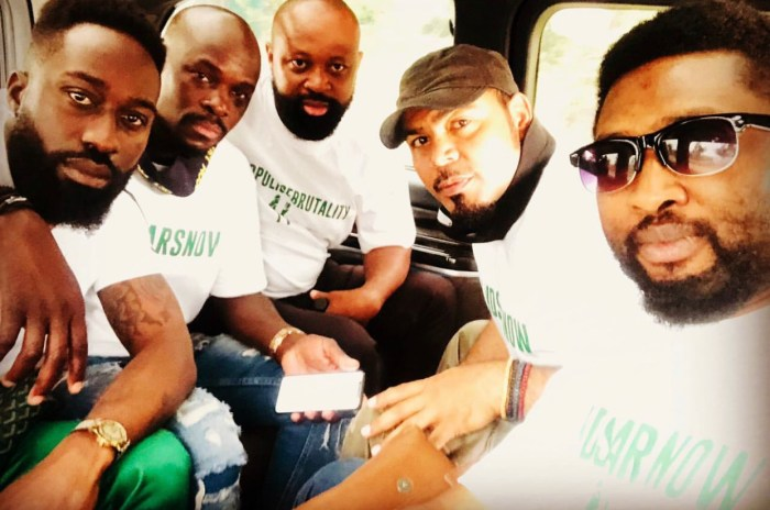Photo of #EndSARS: Nigerian celebrities protest in South Africa