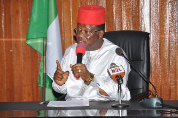 Umahi orders arrest of council chairman, Assembly member