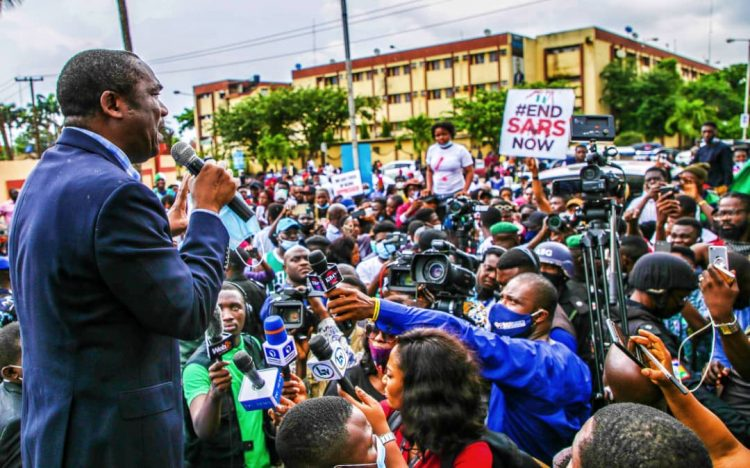 Photo of #EndSARS: SARS must follow due process to be disbanded, Lagos Dep Gov tells protesters