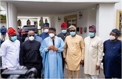 Photo of Coordinated attacks in Lagos were attempts to weaken the region's economy – S/West governors
