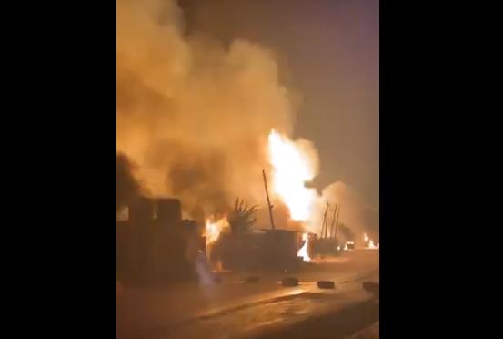 Photo of Fuel tanker explodes on Otedola Bridge (Video)