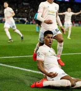 Rashford strikes late as Manchester United sink PSG again