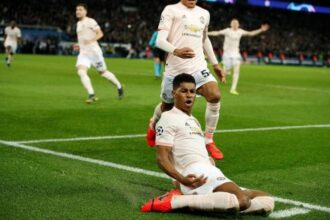 Rashford strikes late as Manchester United sink PSG again