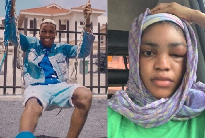 Photo of Alleged domestic violence: Davido's former artiste, Lil Frosh arrested, detained