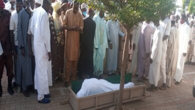 Photo of JUST IN: Balarabe Musa laid to rest in Kaduna