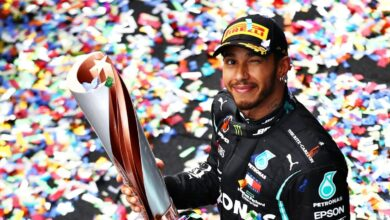 Photo of Hamilton takes seventh Formula One world title in style